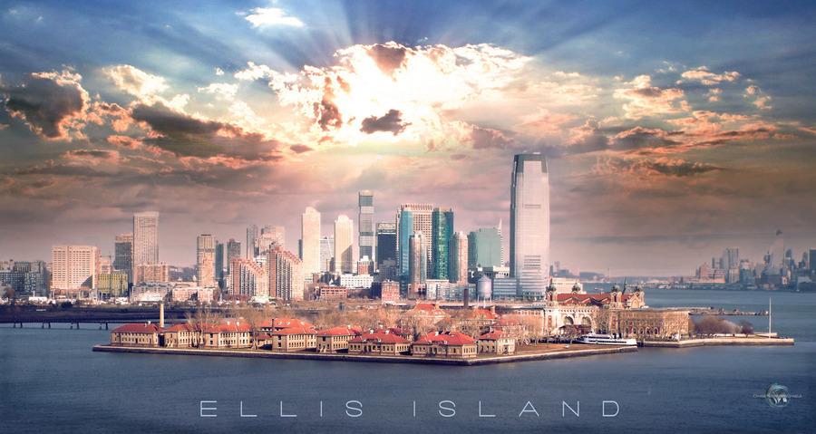 Ellis Island  Print