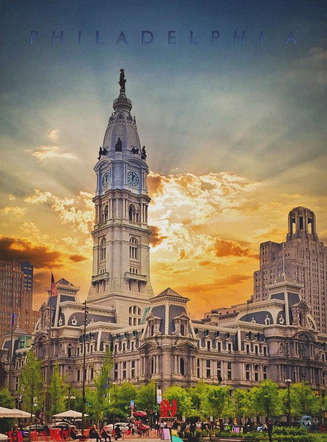 Philadelphia City Hall  Print