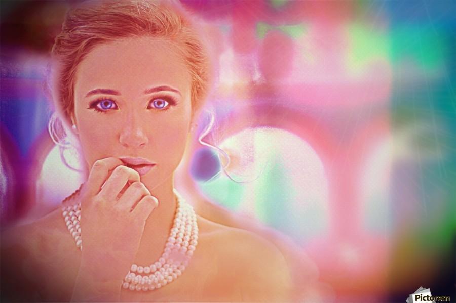 woman pic art , Chazzi R  Davis ,