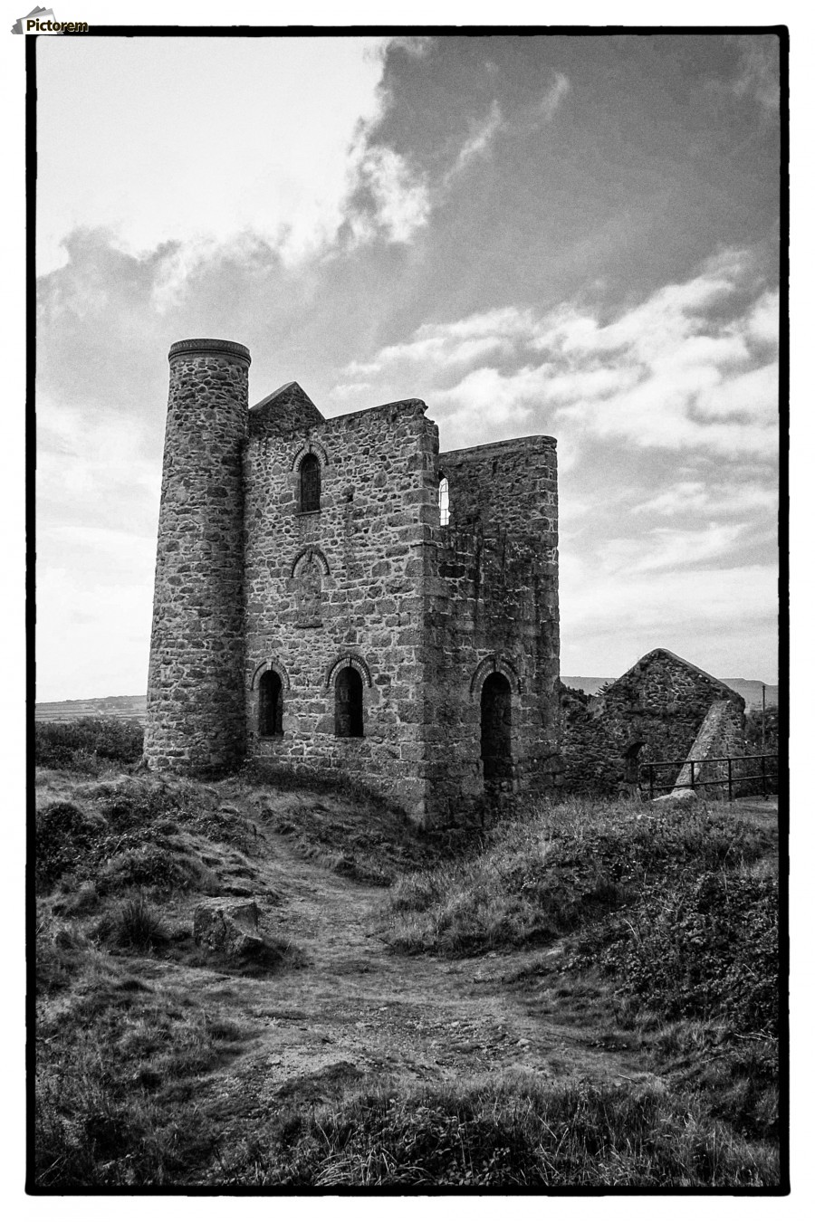 Tin Mine Cornwall  Print