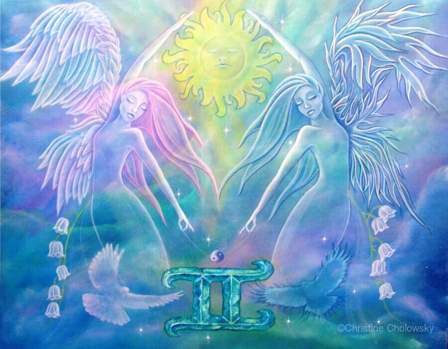 Gemini Angels  Print