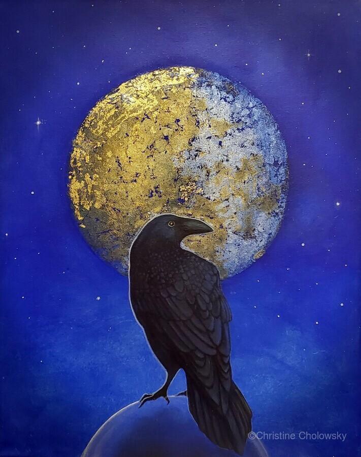 Raven Shine  Print
