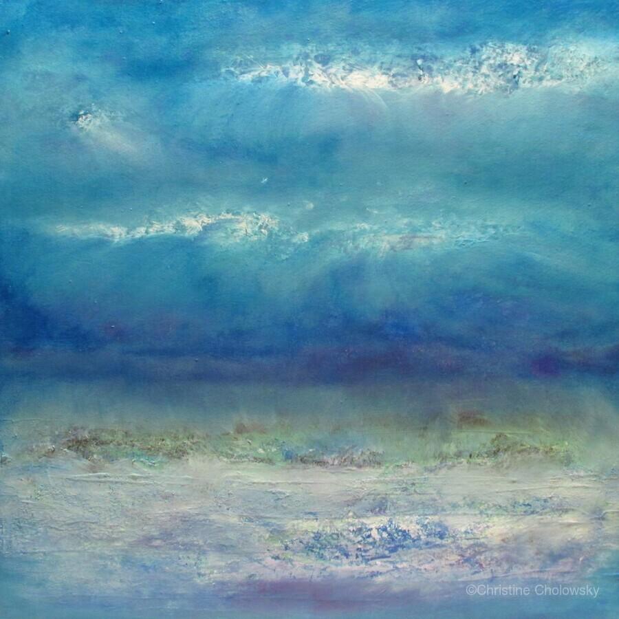 Infinity Beyond The Blue  Print