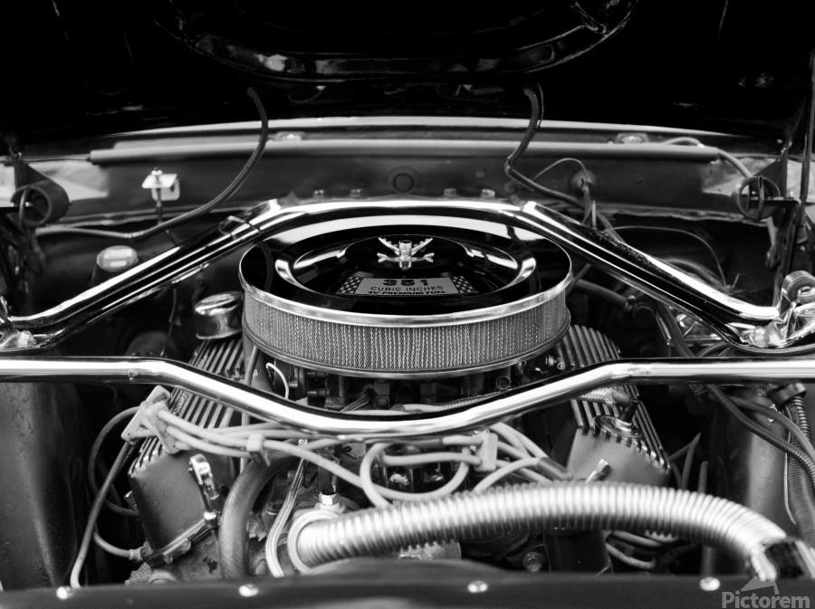 351 Mustang  Print