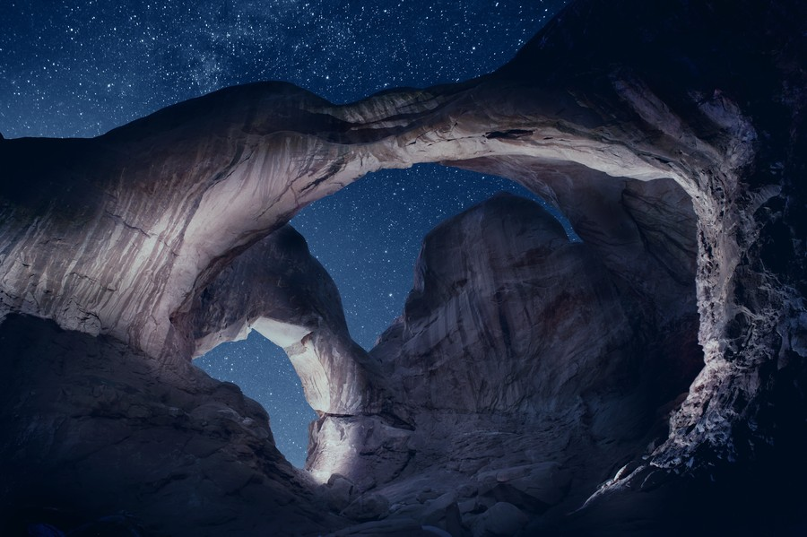 Arches National Park night 1  Print