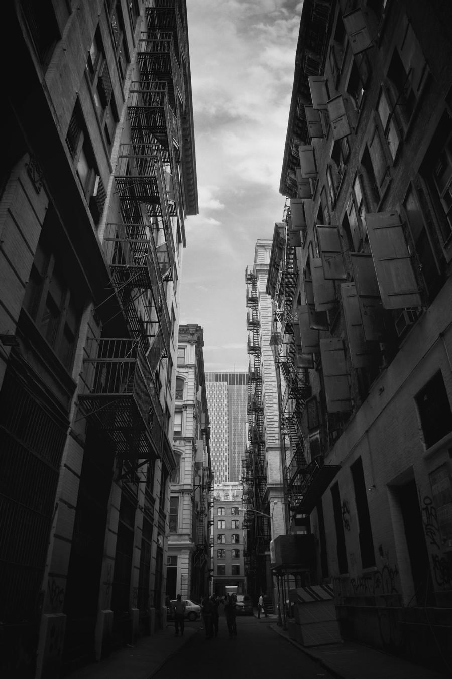 New York Street  Print