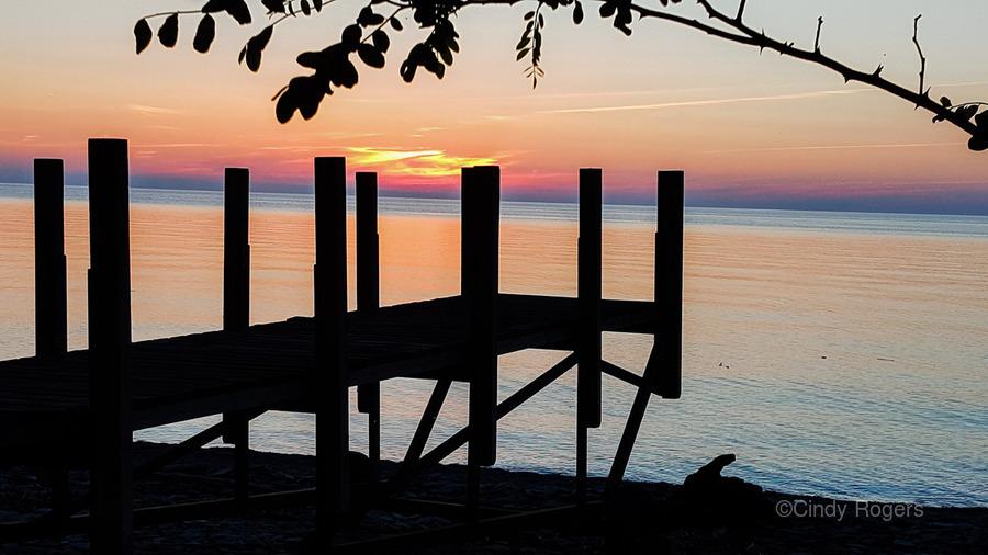 Lake Erie Doc  Print