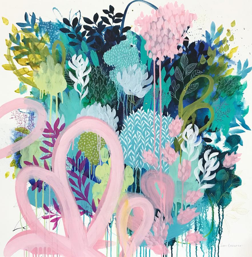 Springtime Wanderer  Print