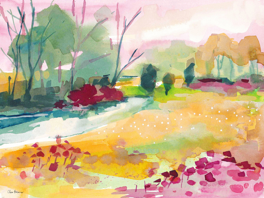 Wildflower Field  Print
