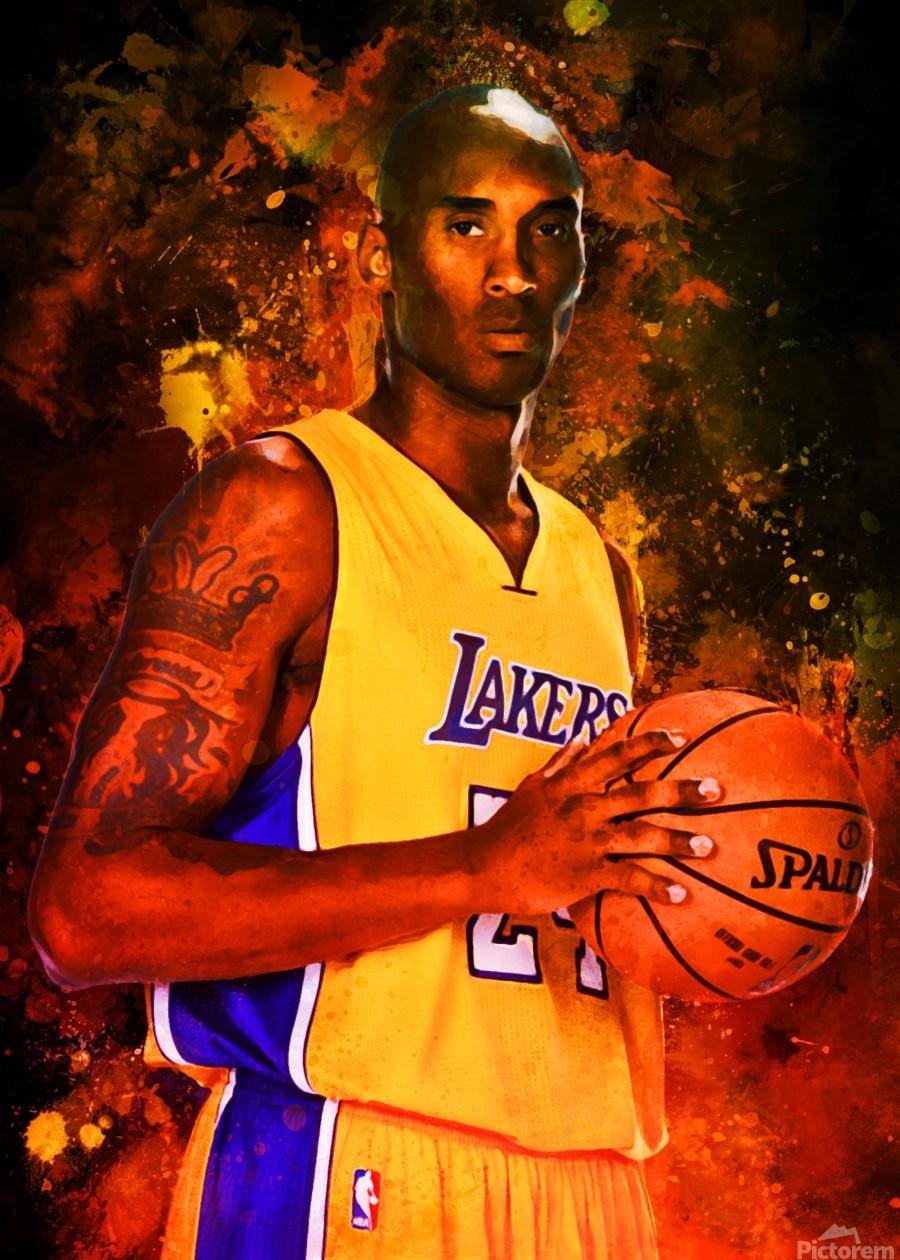 Kobe Bryant  Print