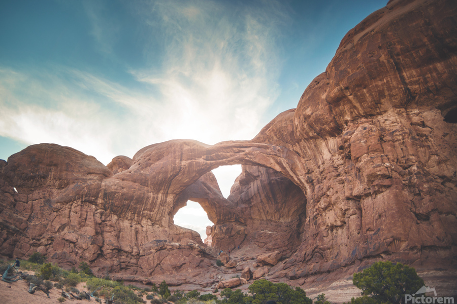 The Double Arch  Print