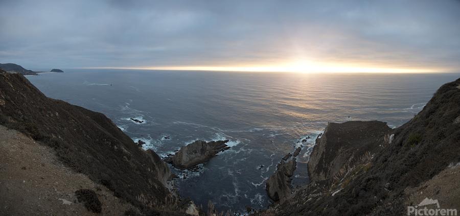 Pacific Coast Sunset  Print