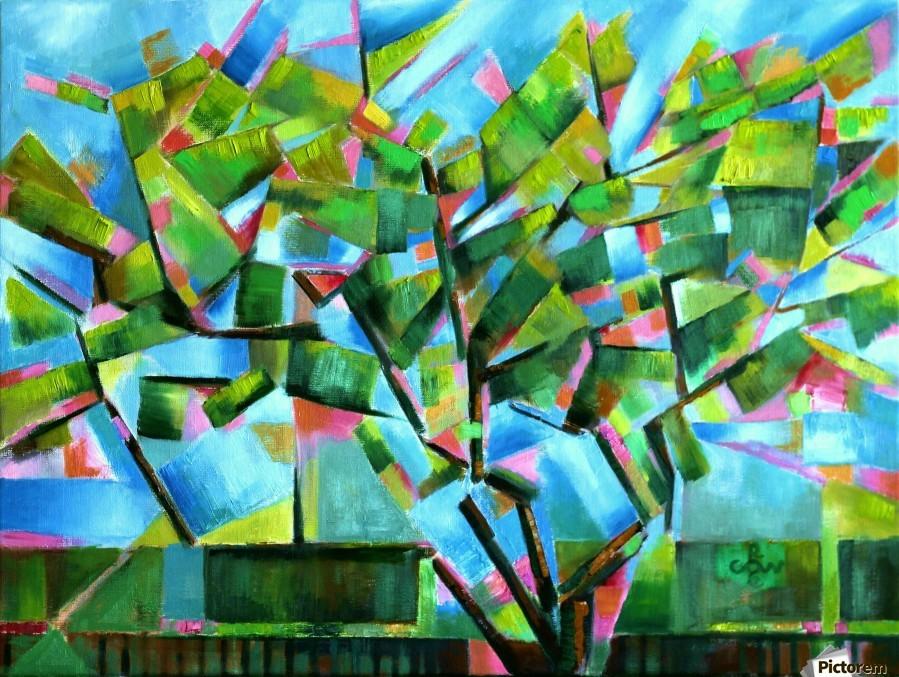 Cubistic Spring at Voorburg - 05-05-16  Print