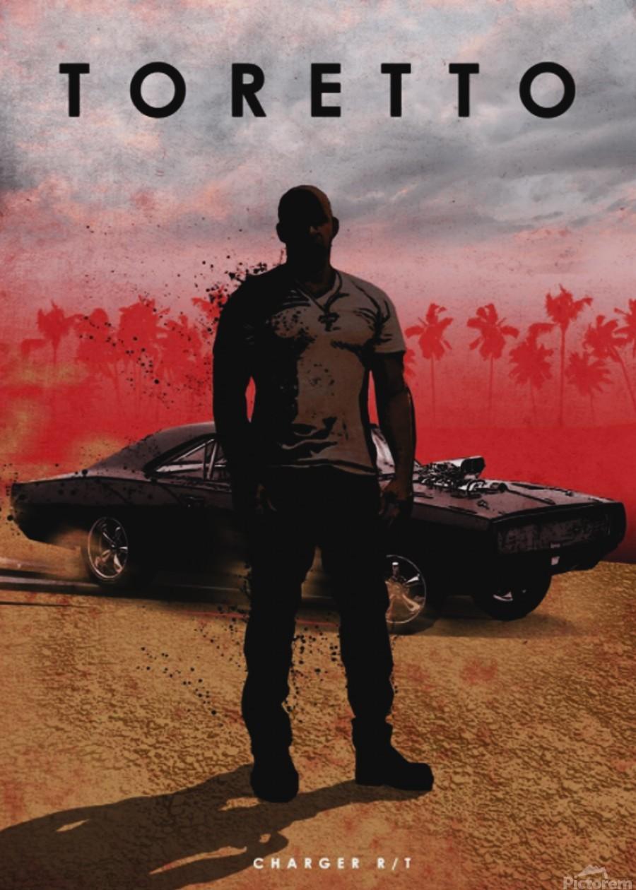 Dominic Toretto  Print