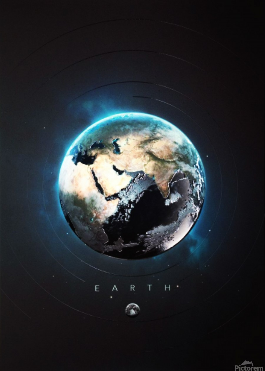 Destination Earth  Print