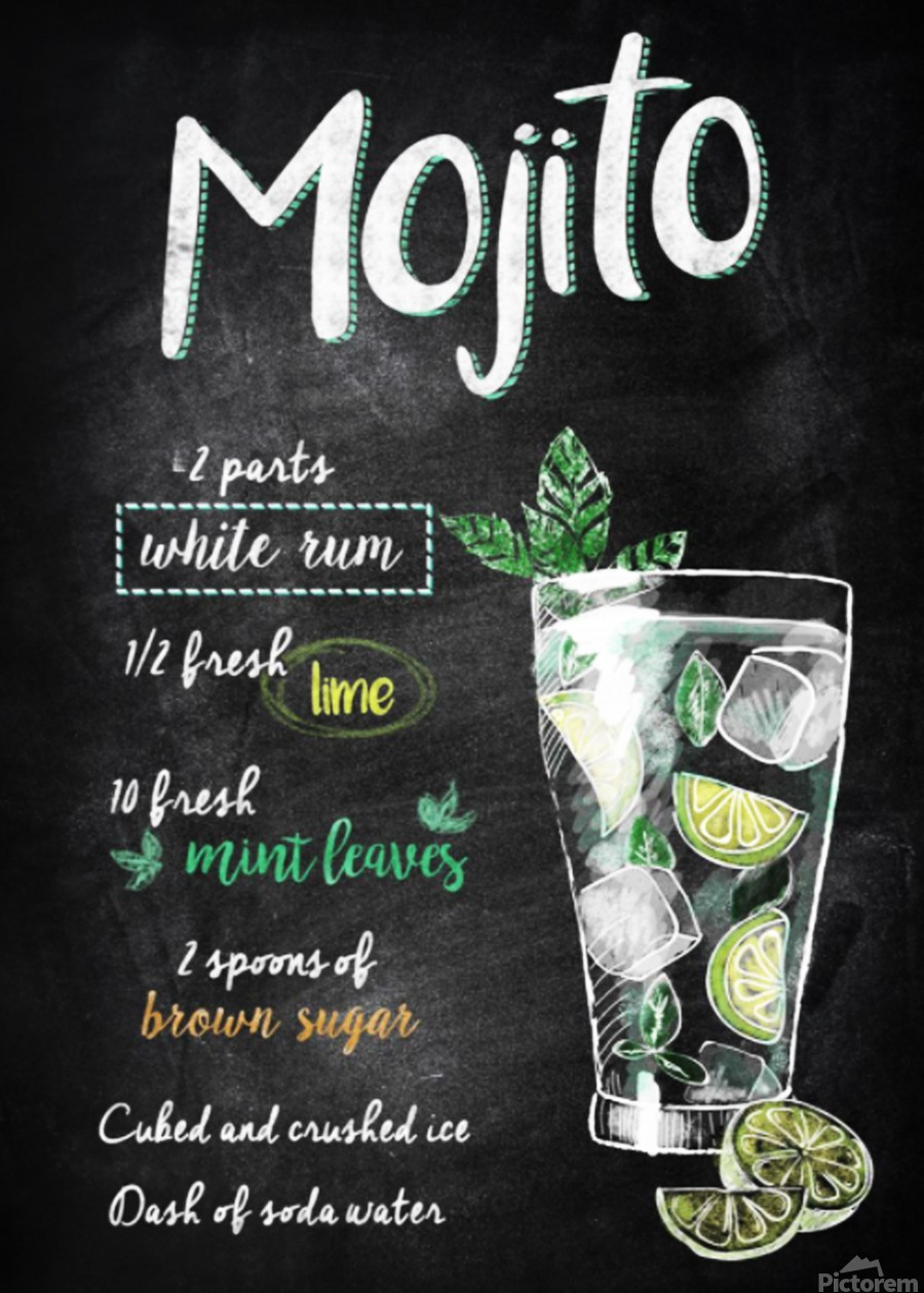 Mojito  Print