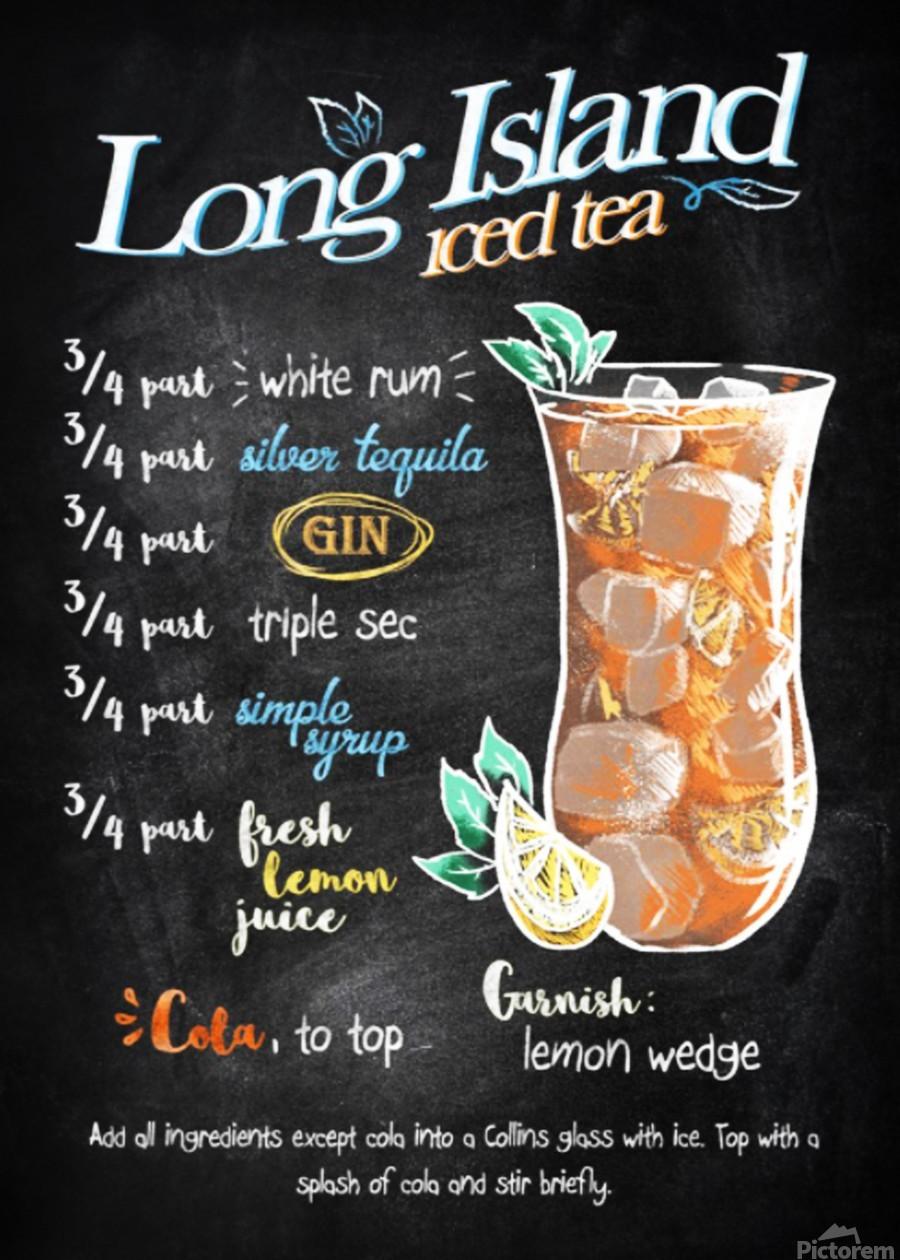 Long Island iced tea  Print