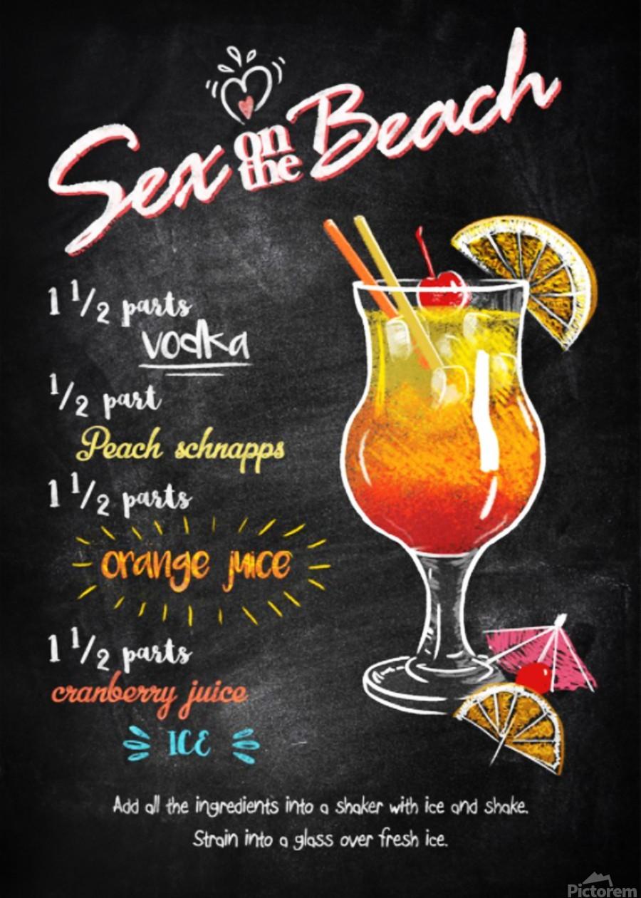 Sex on the Beach  Print