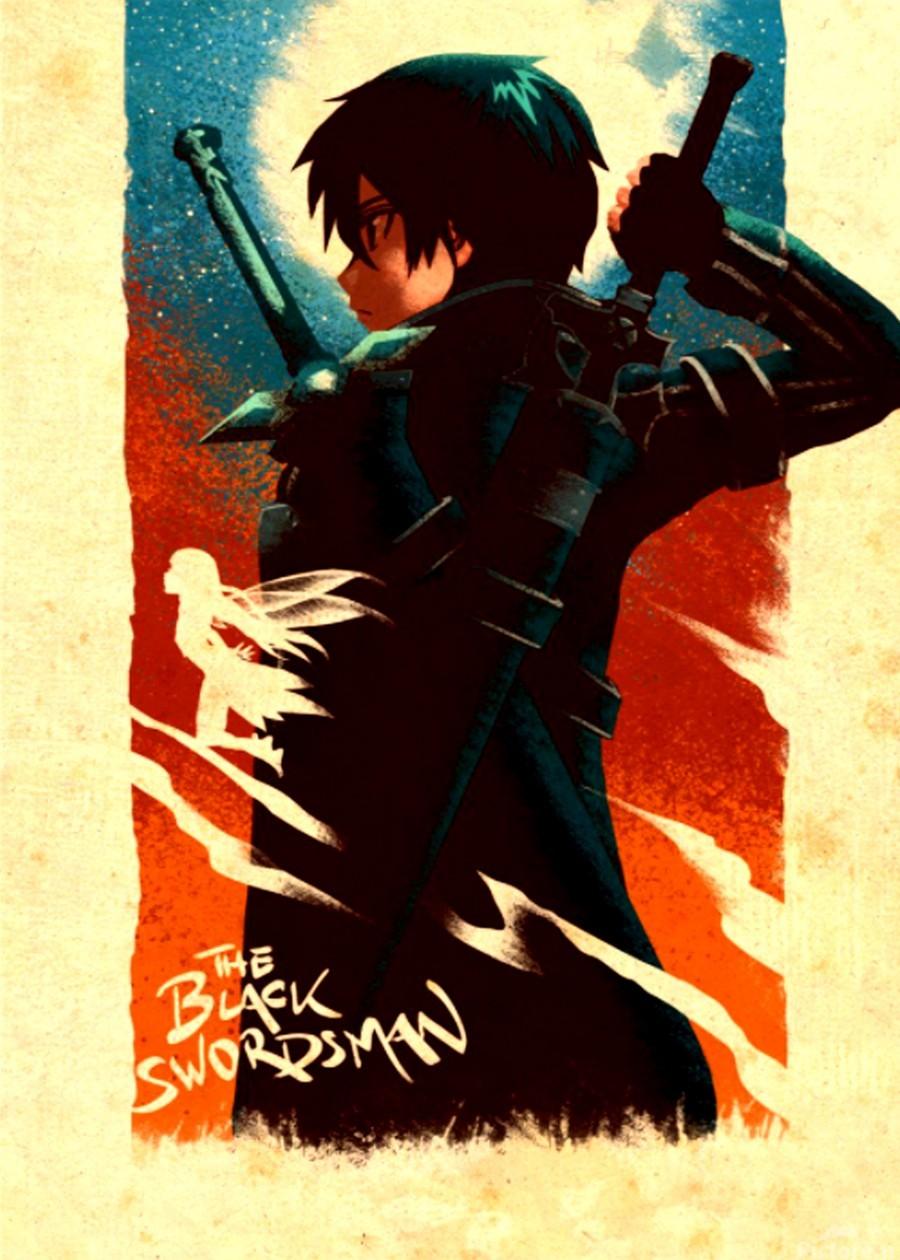 Kirito SWORD ART ONLINE  Print