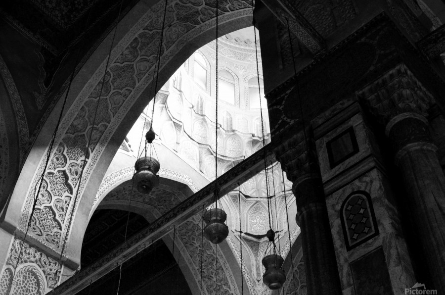 Historical Islamic Architecture  Print