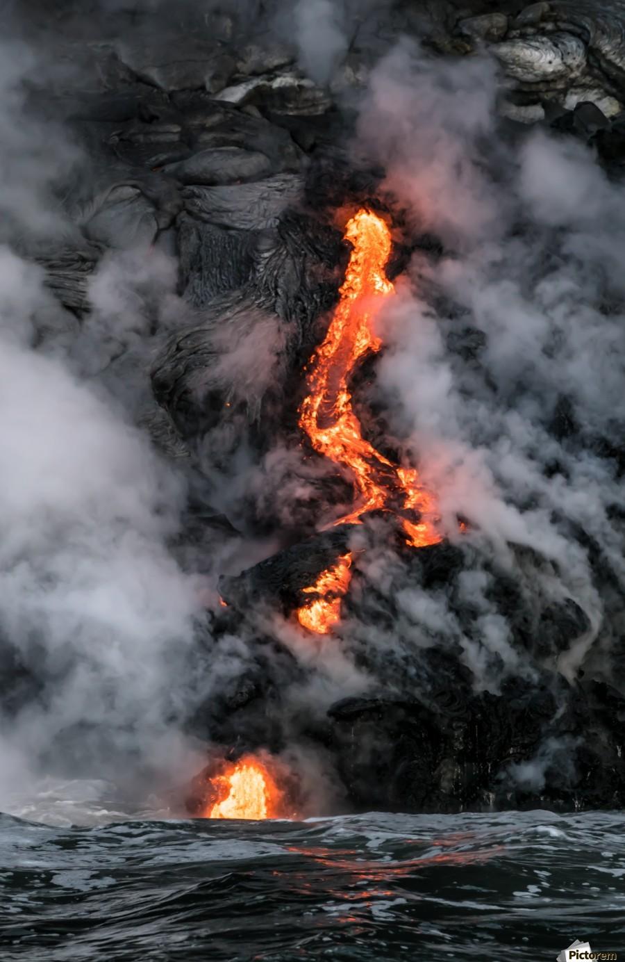 Simple lava shot  Print