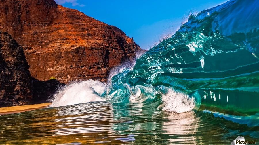 Glass wave  Print