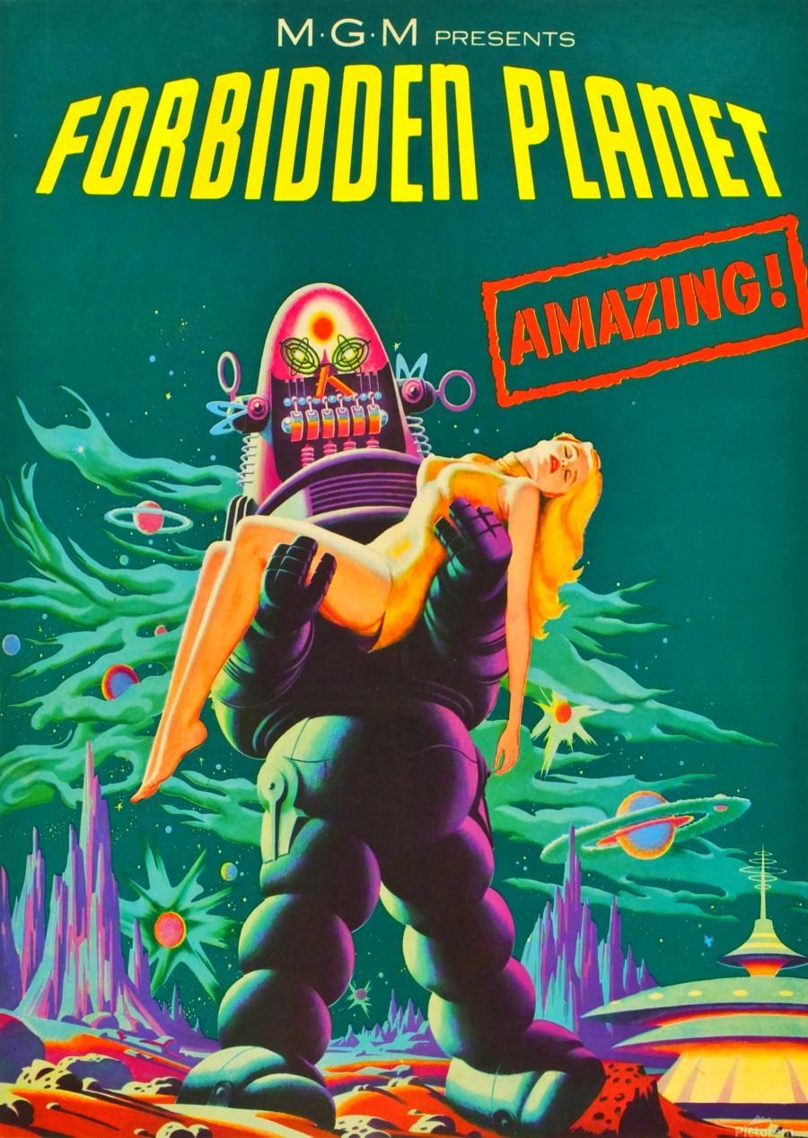 Forbidden Planet - Space Travel  Print