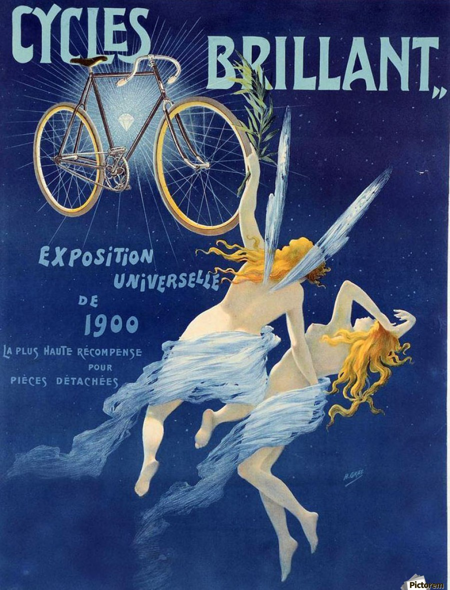 Cycles brillant  Print