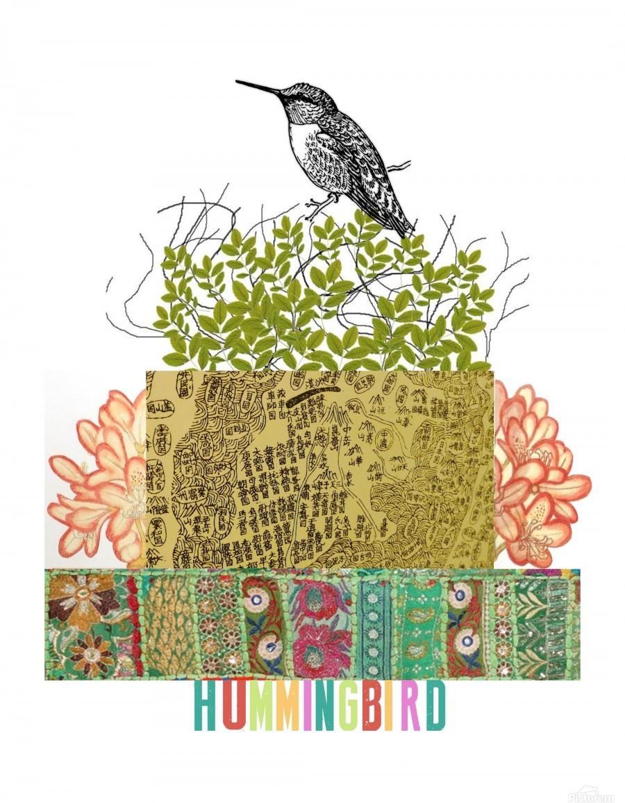 Hummingbird - DONNA REIBSLAGER Canvas