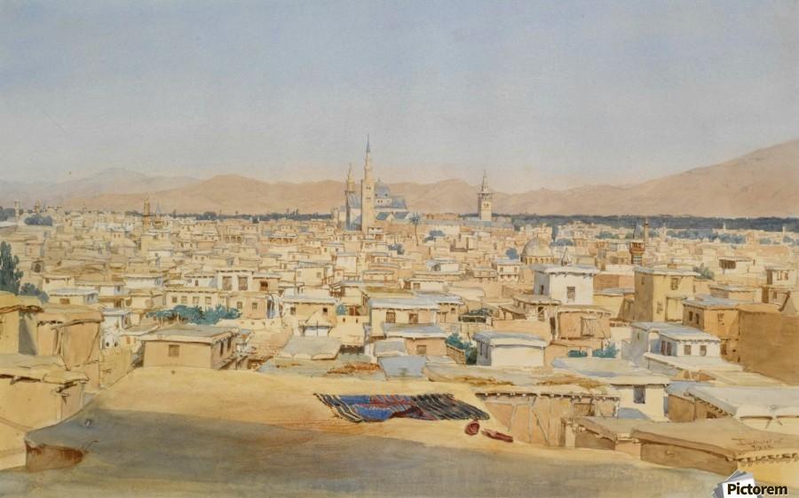 Damascus  Print
