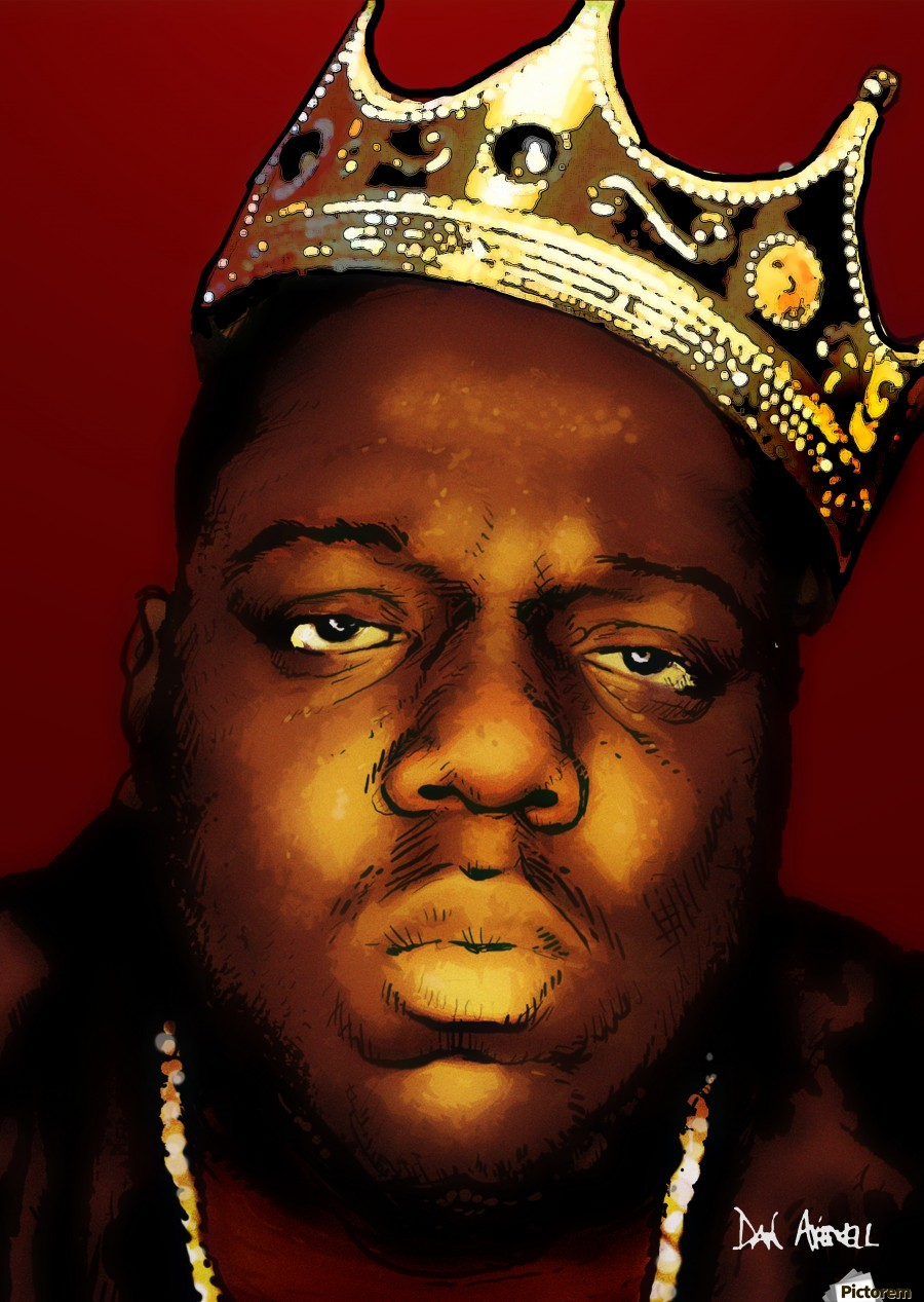 Biggie Smalls aka Notorious B.I.G  Print
