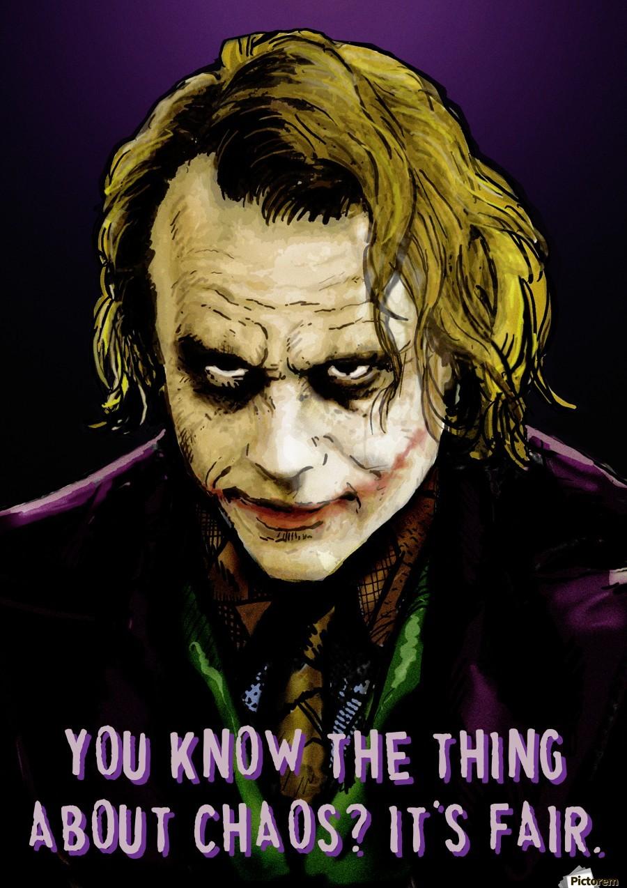 The Joker Says  Print