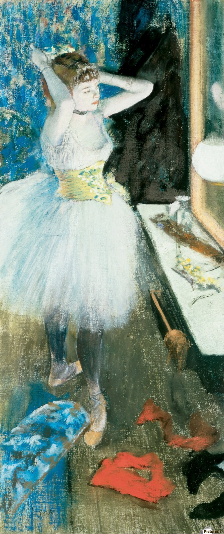 Dancer in Her Dressing Room  Print