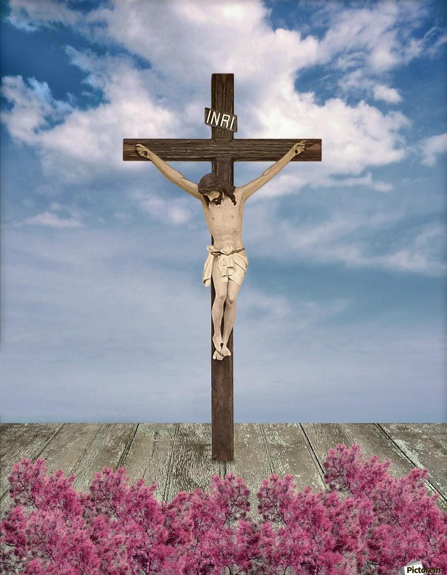 jesus on the cross illustration daniel ferreia leites ciccarino