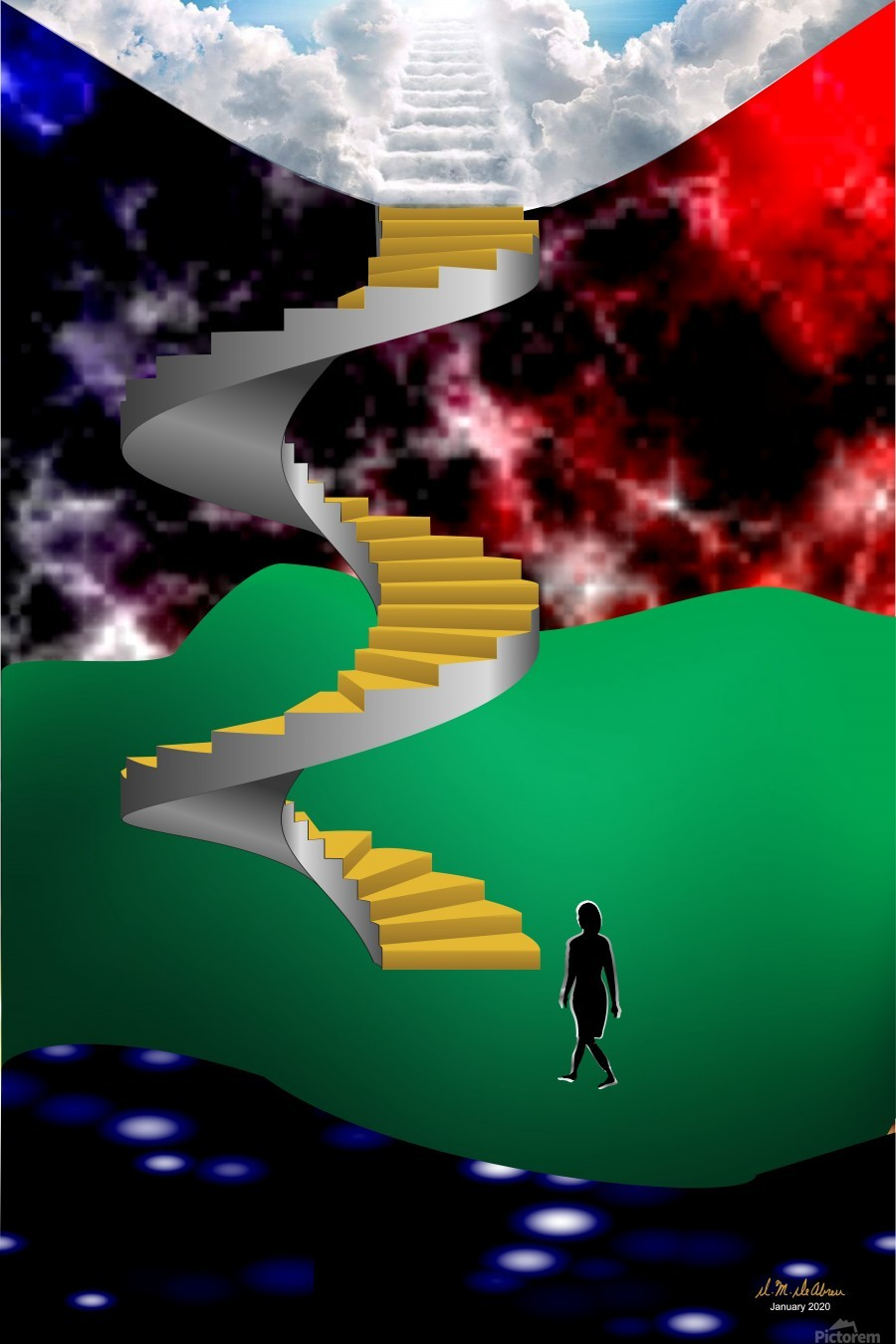 1-Stairway to Heaven  Print