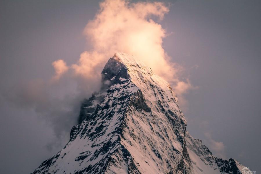 Matterhorn Glow  Print