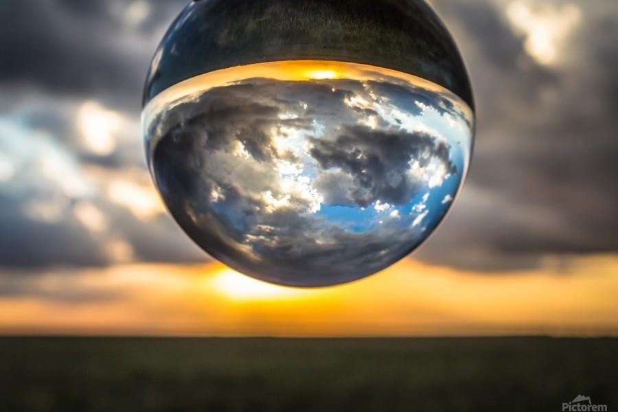 Lens Ball3  Print