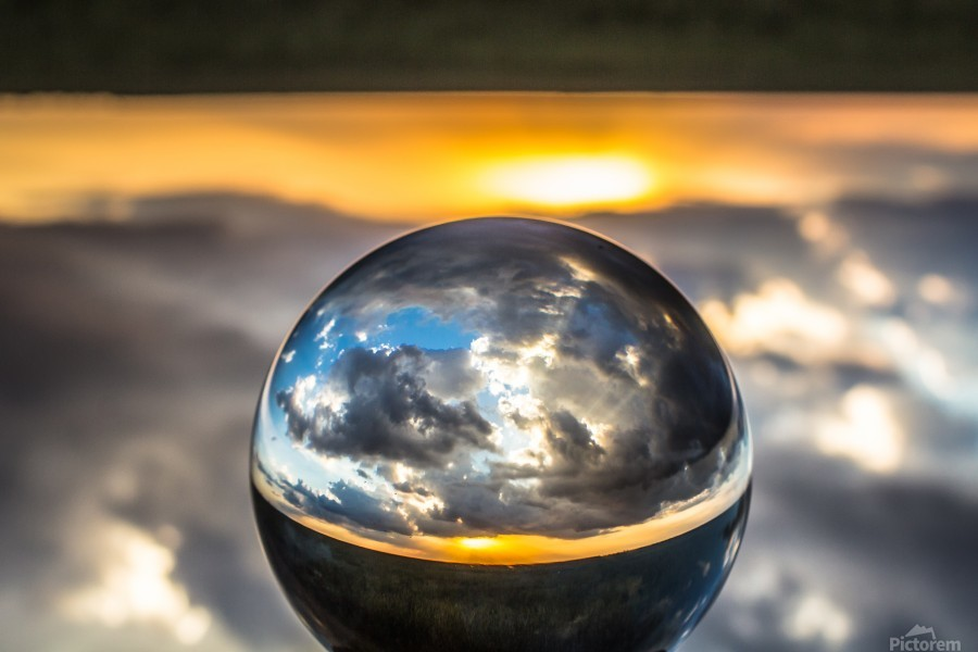Lens Ball7  Print
