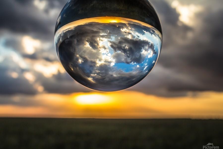 Lens Ball2  Print