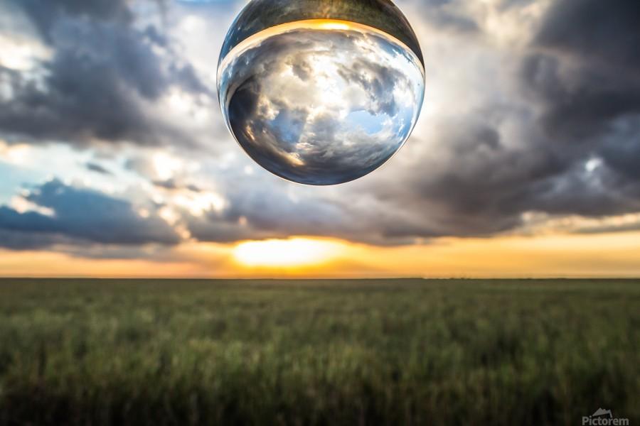 Lens Ball  Print