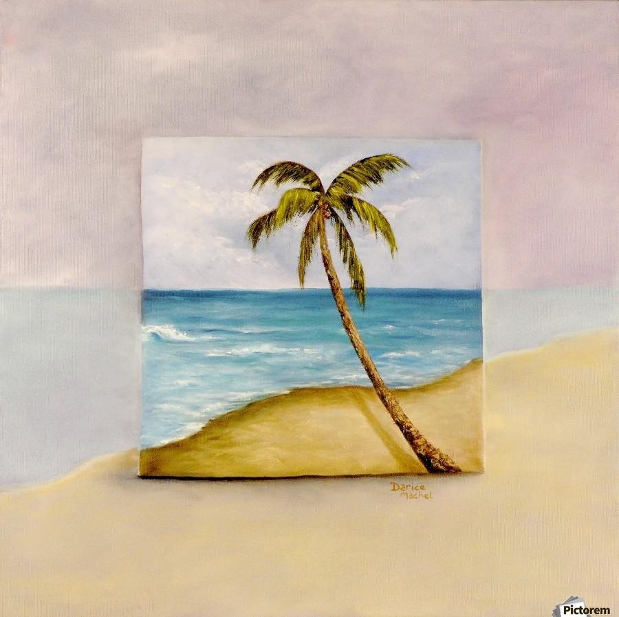 Swaying Palm  Print