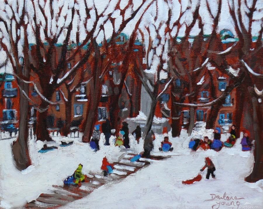 Park La Fontaine  Print