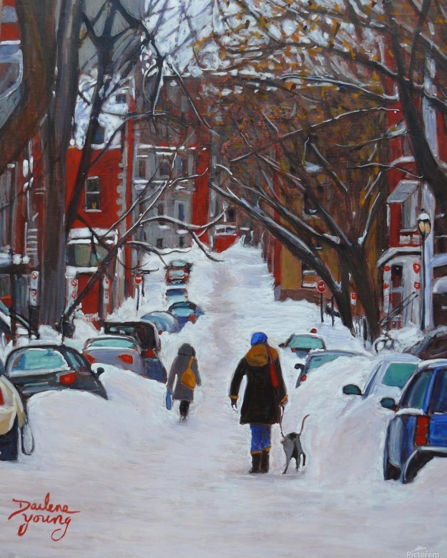 Lorn Avenue McGill Ghetto  Print