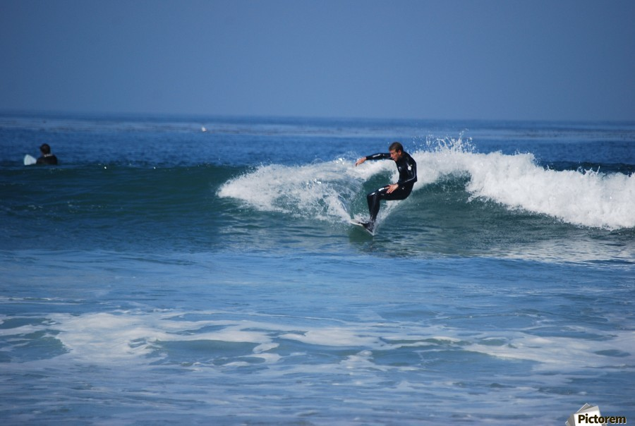 Dana Point surfers   Print