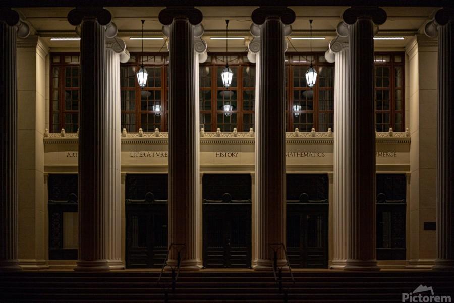 Night Pillars  Print