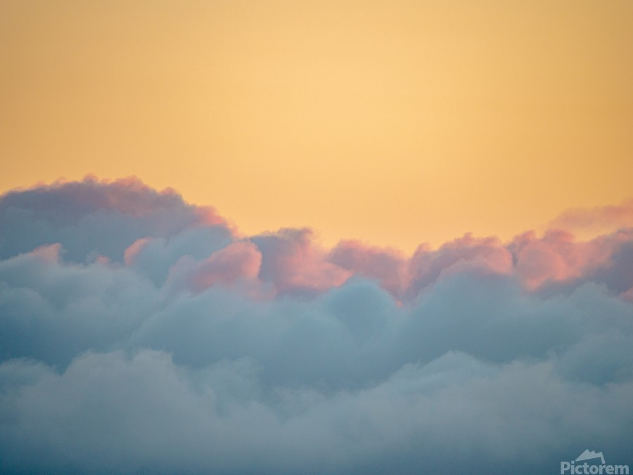 Clouds at Sunset  Imprimer