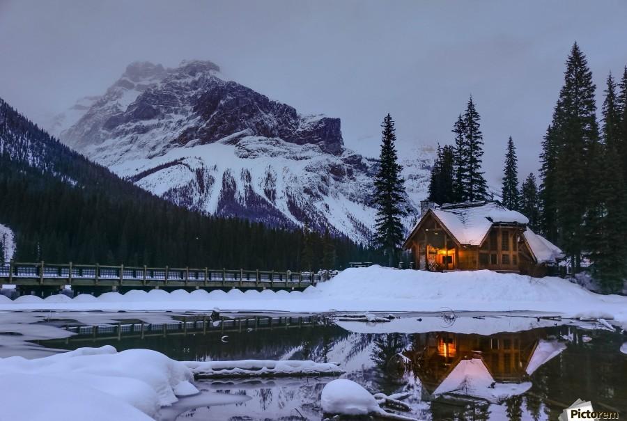 Emerald Lake Lodge  Print