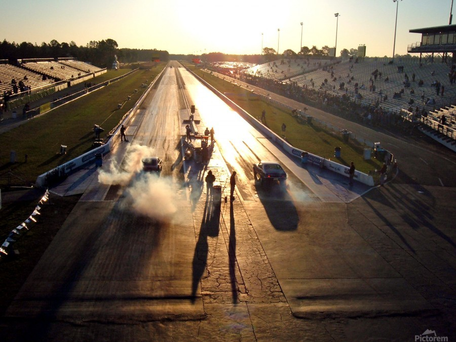 Dawn at the Drags  Print
