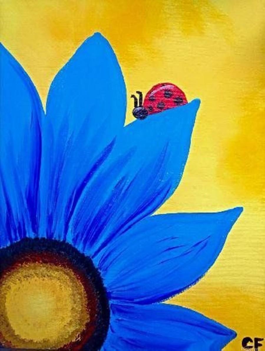 Easy Acrylic Canvas Painting Ideas For