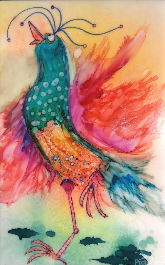 Chicken Dance  Print